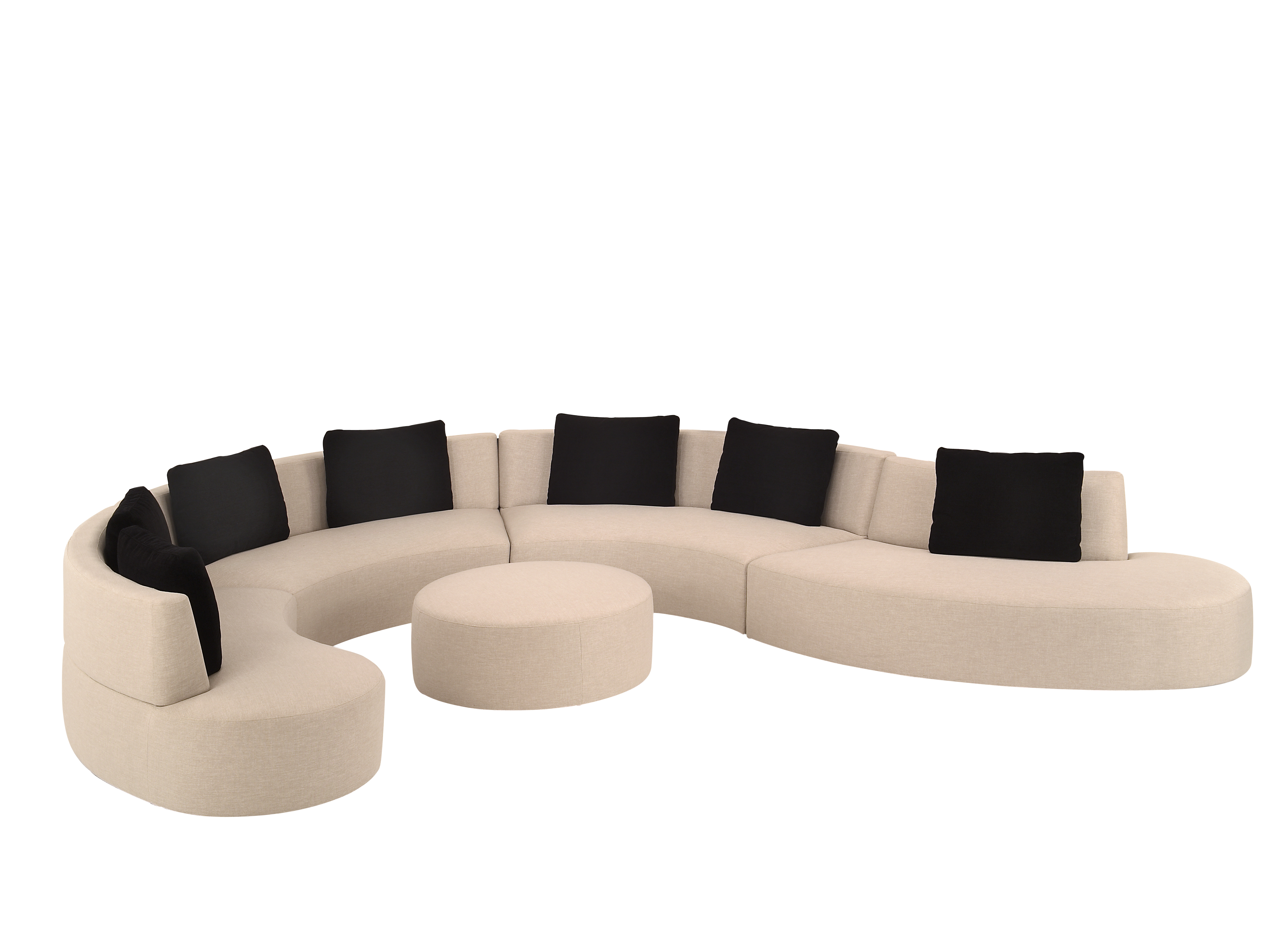 G Mini 4 Piece Sectional GO HOME Modern Decor & Gifts
