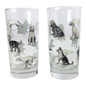 GH161 DOGS OBEY GLASSES .
