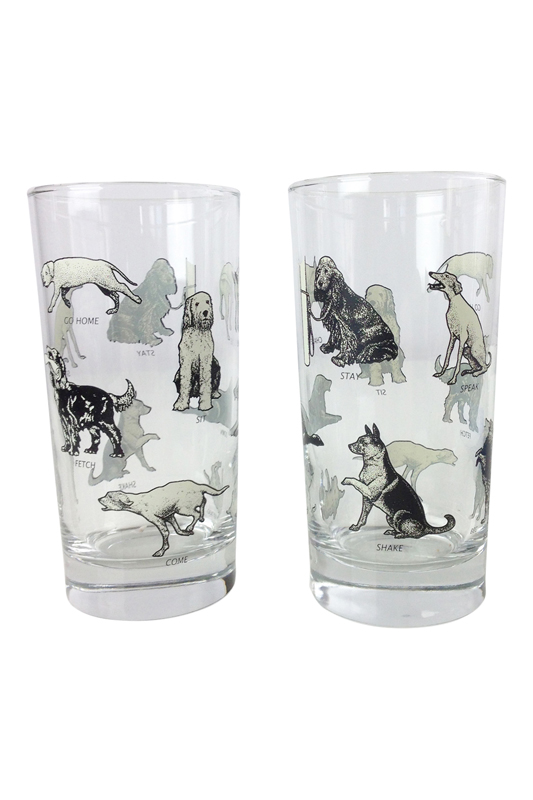 Dogs obey glasses go home modern decor gifts for Modern home decor gifts
