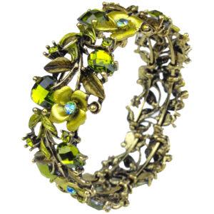 gh119 green crystal cuff