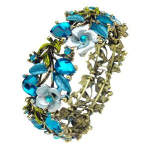gh120 blue crystal cuff