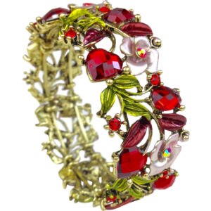 gh122 red crystal cuff