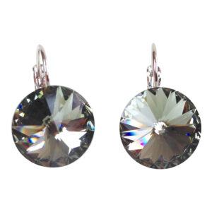 gh42. Smoke Swarovski Crystal