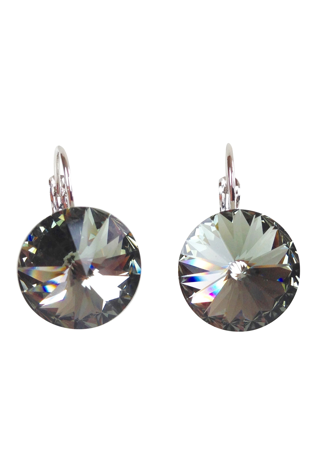 Black Diamond Swarovski Earrings