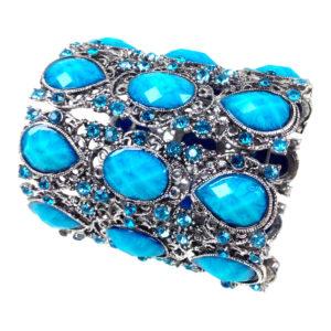 gh70 Wide jeweled cuff 1