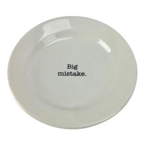 GH186 BIG MISTAKE PLATE