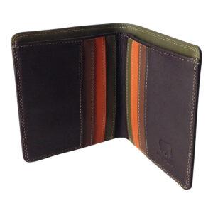 GH190 brown bi-fold wallet