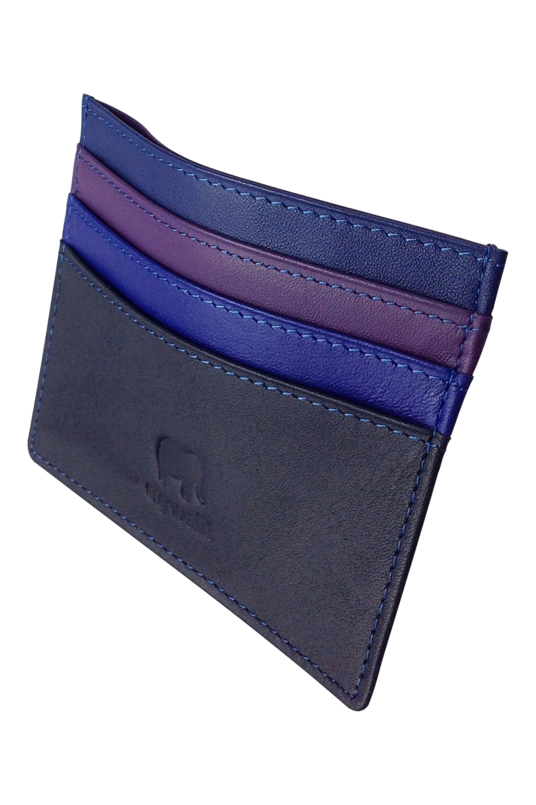 GH192. Blue mini wallet