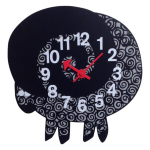GH197 George Nelson ZooTime Ram Clock