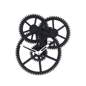 GH204 triple gear clock