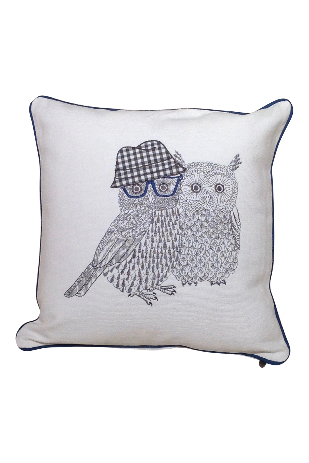 Owl couple pillow go home modern decor gifts for Modern home decor gifts