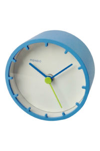 GH240a Mondo Alarm Clock in blue
