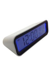 GH241a MONDO DIGITAL CLOCK in WHITE