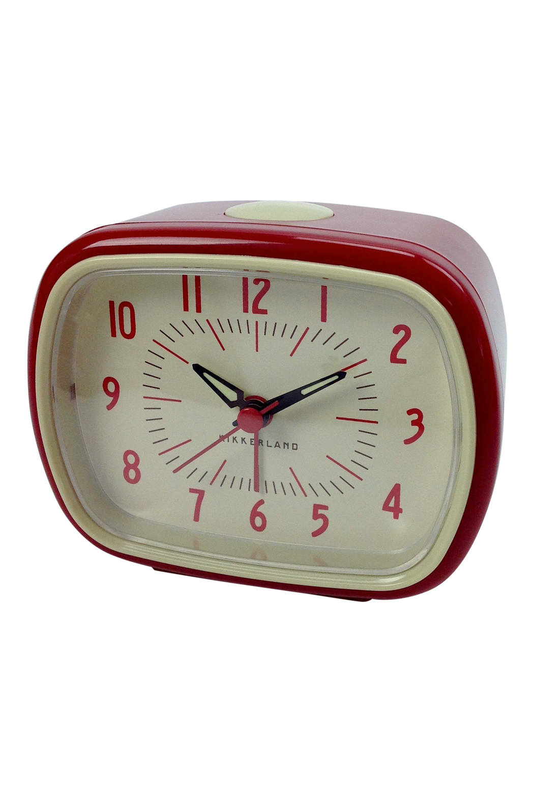 Retro alarm clock in red go home modern decor gifts for Modern home decor gifts