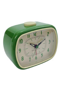 GH206b RetroAlarmClock in green