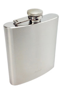 GH259. Brushed Stainless brink flask