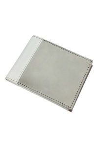 GH266 stainless steel wallet in white