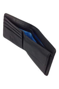 GH268 Bi-Fold Wallet in Black