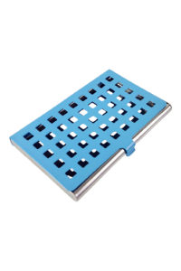 GH274. CARD case with blue holes