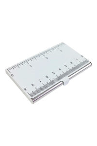 GH277 card case with white ruler