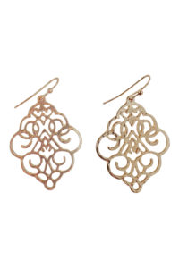GH109 Gold Die-Cut Earrings