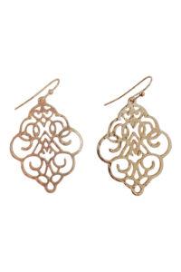 GH109 Gold Die-Cut Earrings