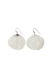 GH295 SILVER FILIGREE earrings 1