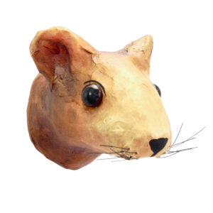 GH393. Brown Mouse Trophy 1