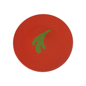 GH335 orange & green plate 1