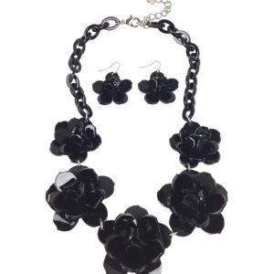 GH356 black necklace 1