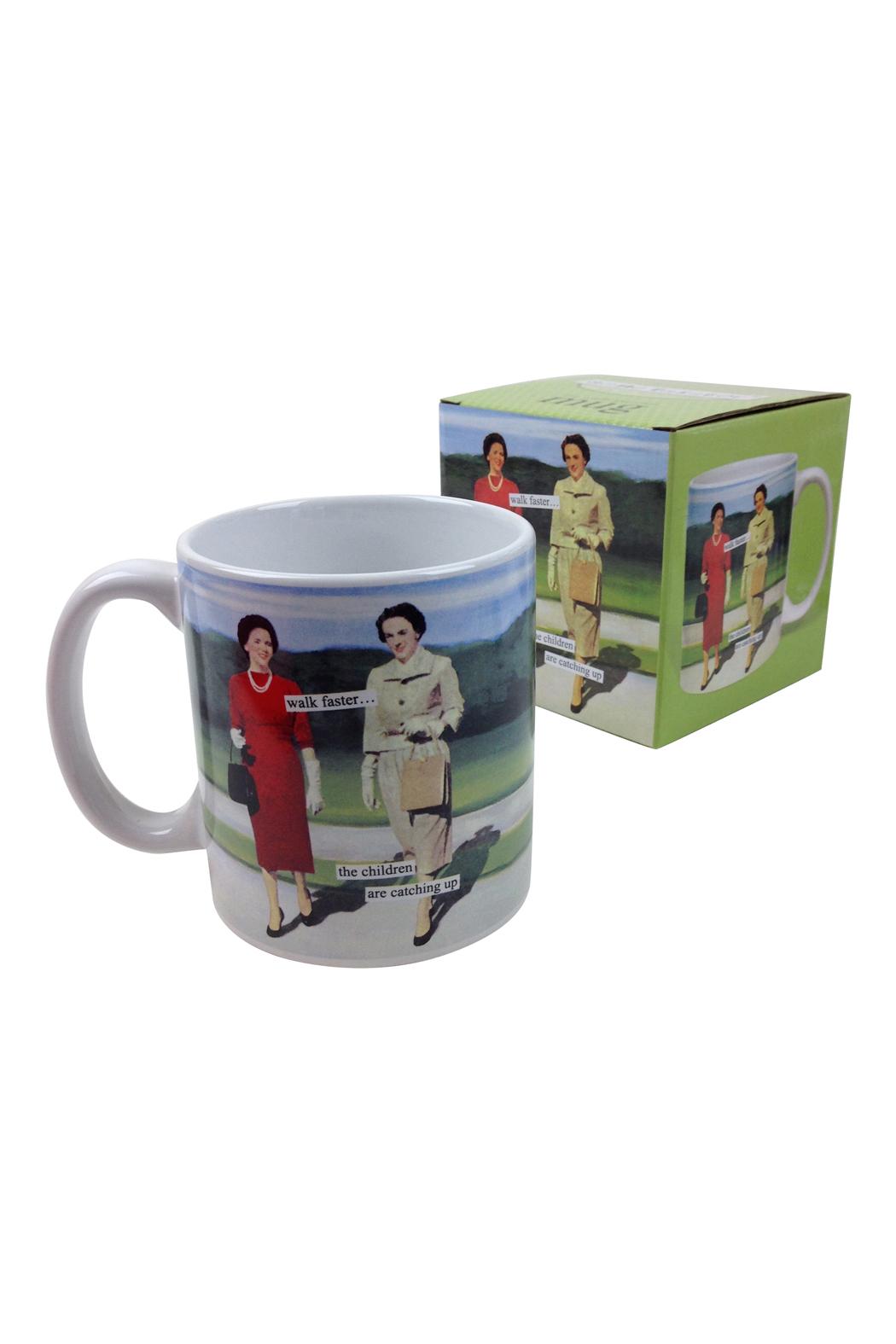 Walk faster mug go home modern decor gifts for Modern home decor gifts