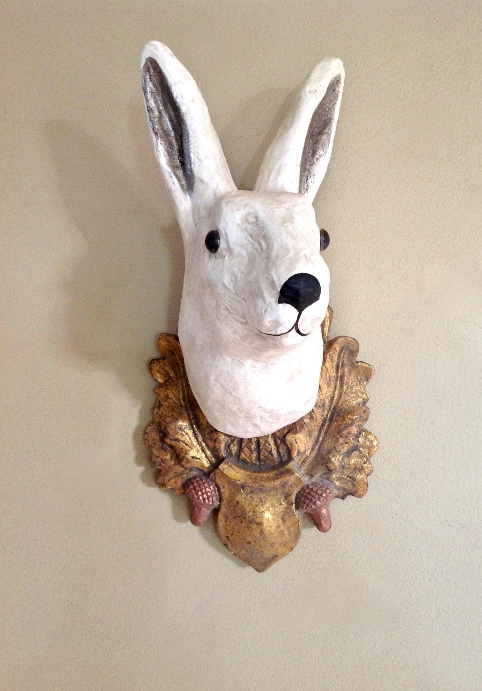 Rabbit trophy go home modern decor gifts for Rabbit decorations home
