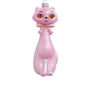 Pink Kitten Ornament