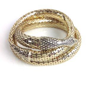 GH411 Coiled snake bracelet 1
