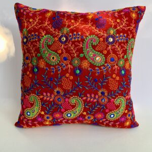 GH531 Red Moroccan Pillow 3