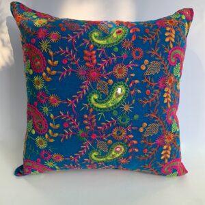 GH532 Blue Moroccan Pillow 3