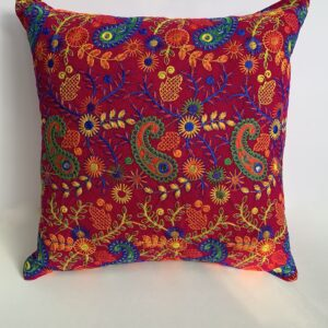 GH534 Cranberry Moroccan Pillow 3