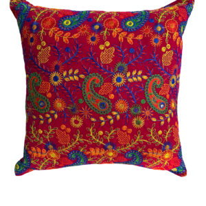 GH534 Cranberry Moroccan Pillow 3 copy