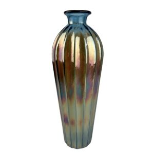GH568. Tall Iridescent vase 1